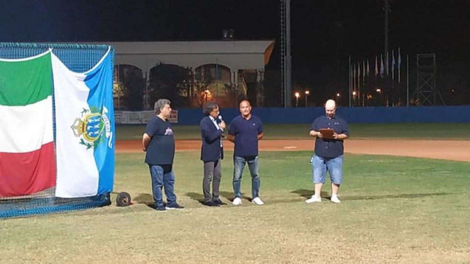 Il San Marino Baseball festeggia lo Scudetto