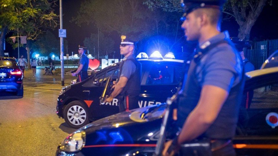 Raid vandalici a Riccione,  due bande fermate dai Carabinieri