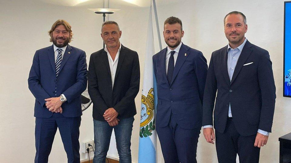 San Marino: si rinnova l'amicizia fra il Titano e Imola. Il Sindaco Panieri in visita in Repubblica