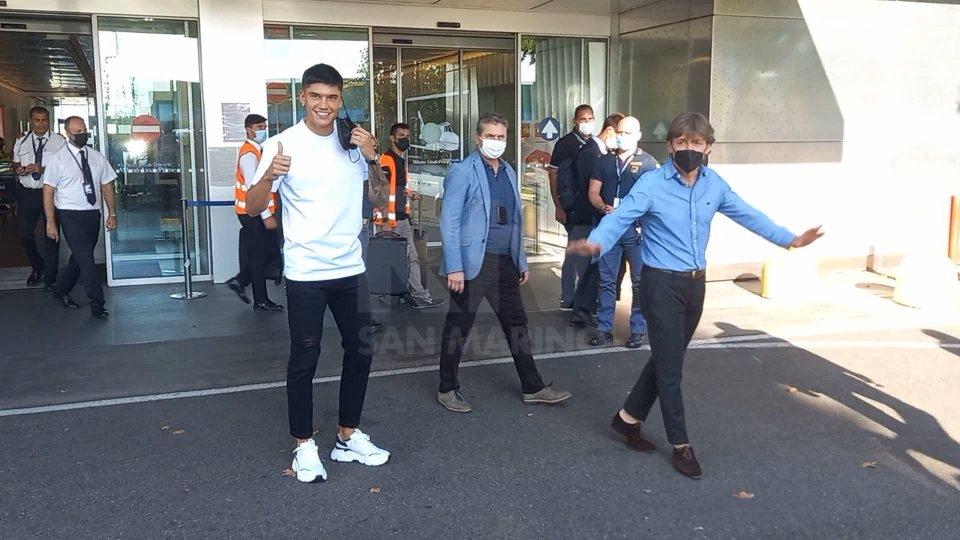 L'arrivo di Joaquin Correa a Milano