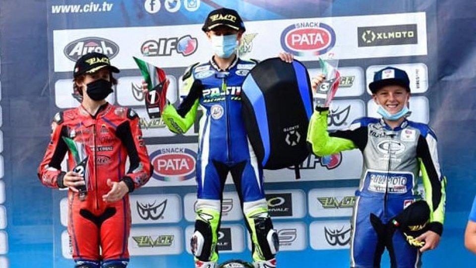 Moto, Tesini secondo nel campionato italiano Minigp 50