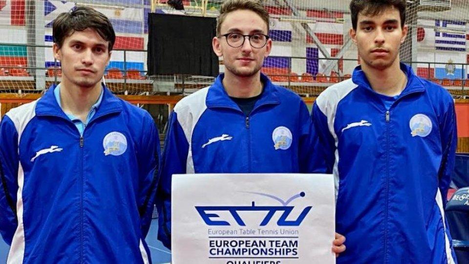 Tennis Tavolo:  la Nazionale ai Campionati Europei a squadre