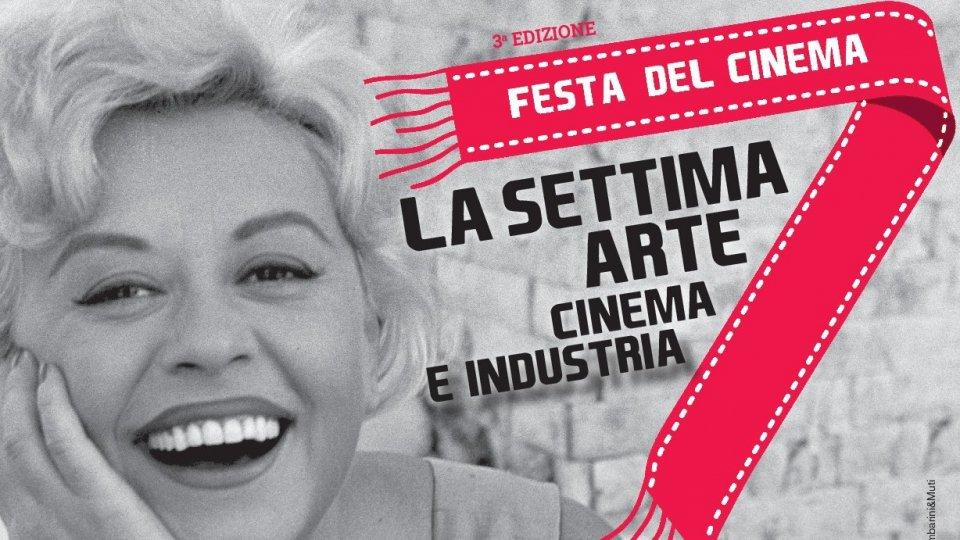 Giulietta Masina nel Manifesto La Settima Arte Cinema e Industria 2021