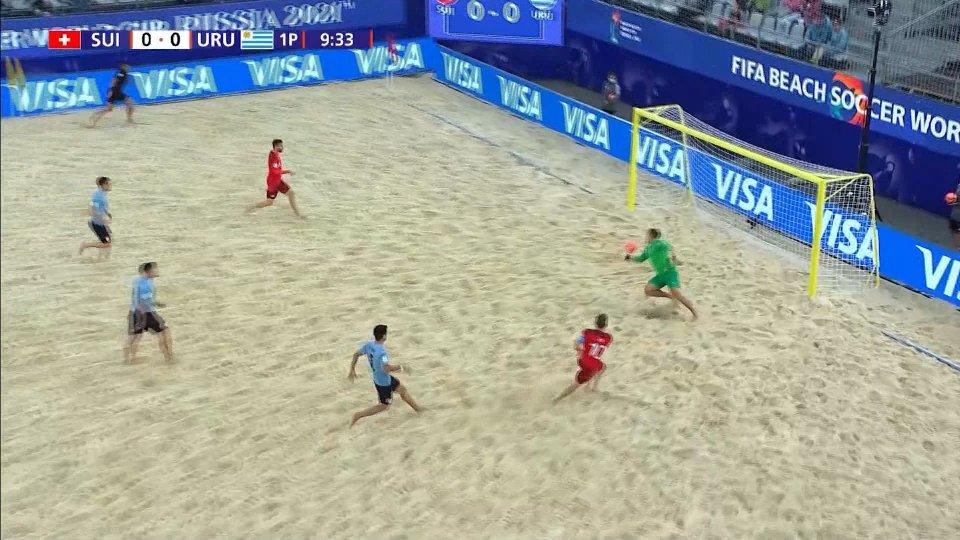 La Svizzera batte l'Uruguay e conquista le semifinali