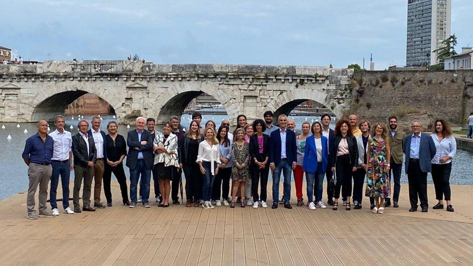 Jamil sindaco di Rimini: presentata la lista dei candidati del Pd