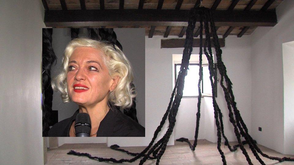 Nel video Rita Canarezza