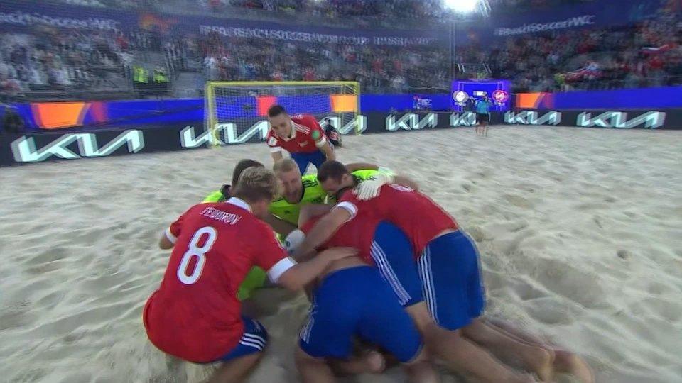 Beach Soccer: la finale sarà Russia-Giappone