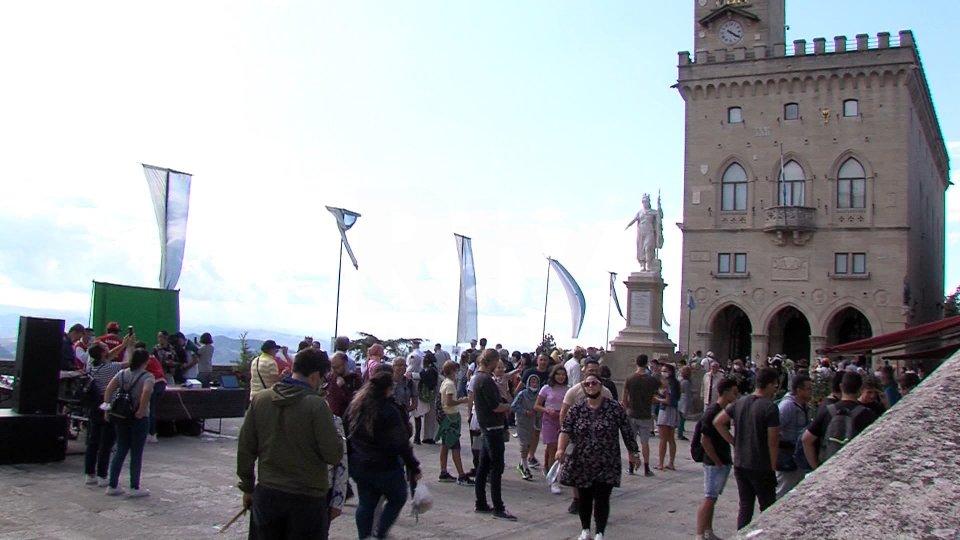 Visitatori al San Marino Comics