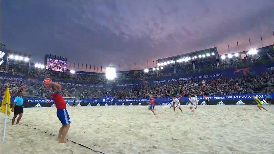 Russia campione del mondo, Giappone ko 5-2