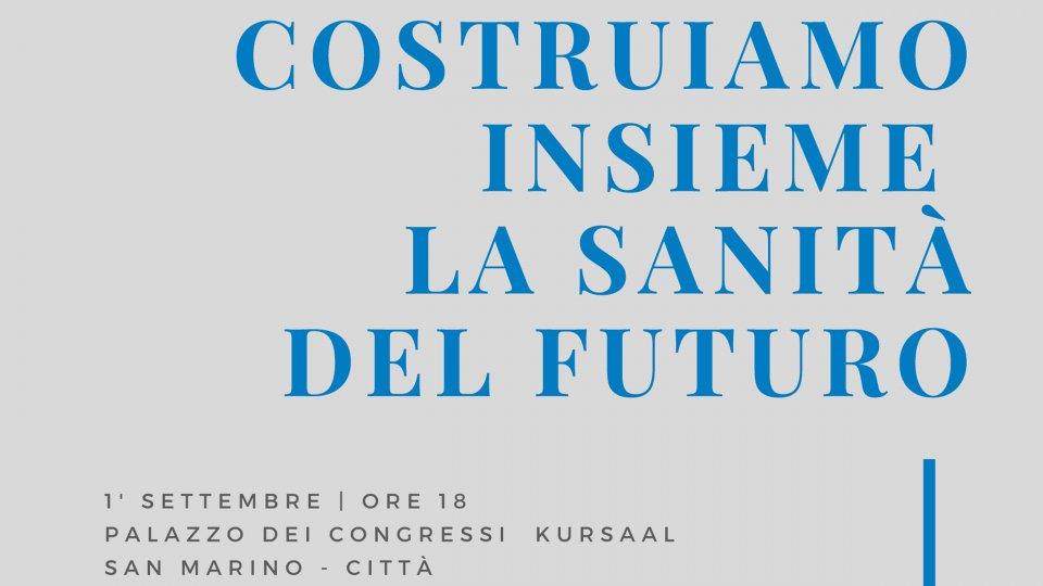 Mercoledì 1° settembre la presentazione del progetto del Nuovo Ospedale di Stato di San Marino, al Palazzo dei Congressi Kursaal