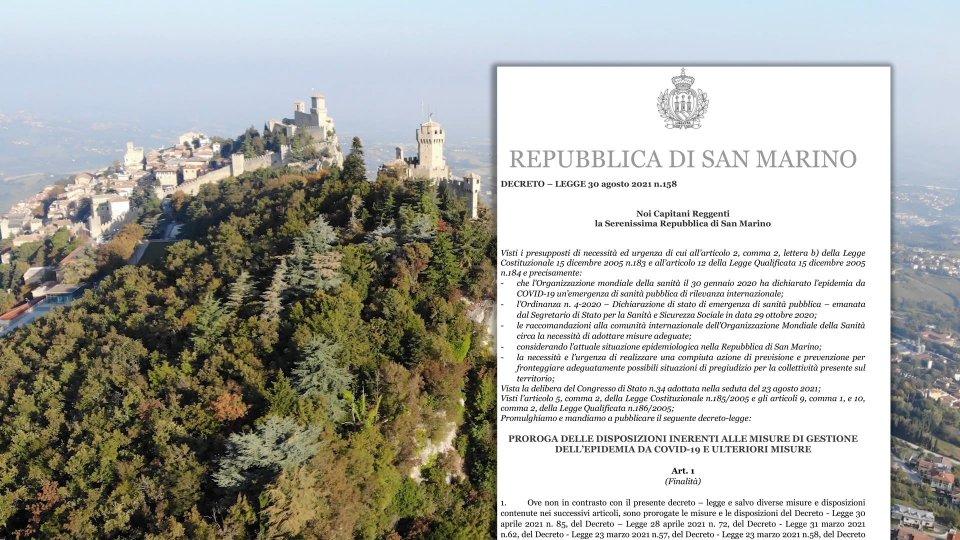 San Marino: prorogate le misure anticovid fino al 1° ottobre