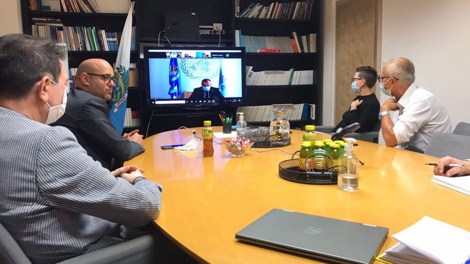 Il Segretario Ciavatta a colloquio con Hans P. Kluge, Direttore Regionale dell'OMS per l'Europa