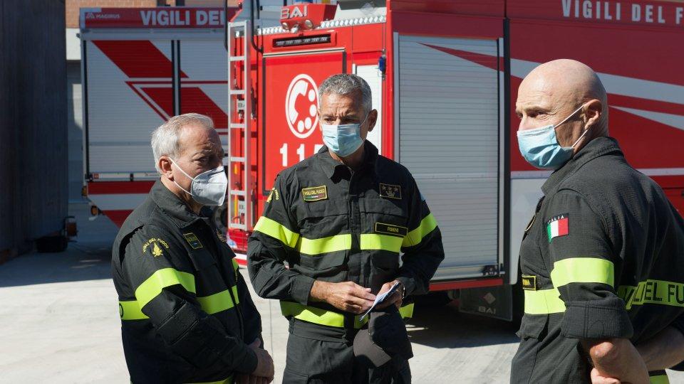 Vigili del Fuoco: avvicendamento al comando provinciale, arriva Luca Manselli