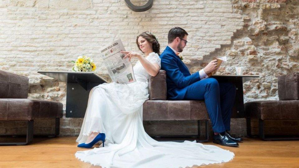 Presentano fattura a chi non si presenta al loro matrimonio