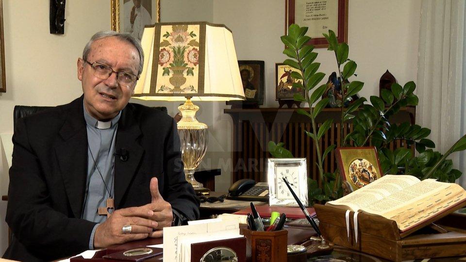Il vescovo di Rimini Francesco Lambiasi