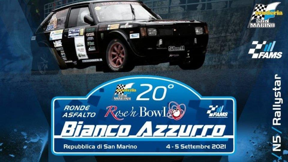 Nel weekend al via il Rally Bianco Azzurro