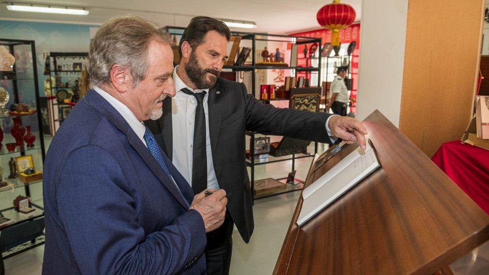 La Reggenza in visita presso l'Associazione San Marino-Cina