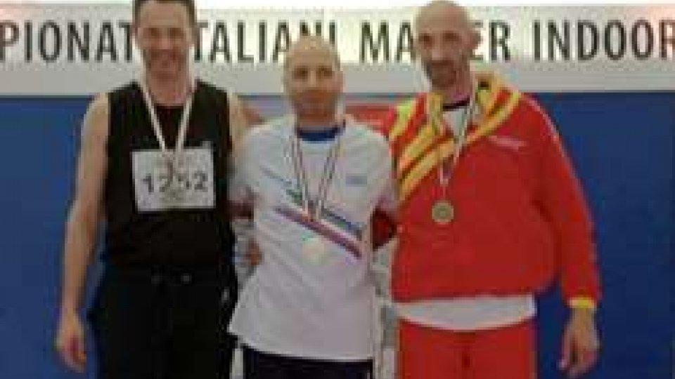 Argento per Antonio Pazzaglia, portacolori della Track&Field San Marino