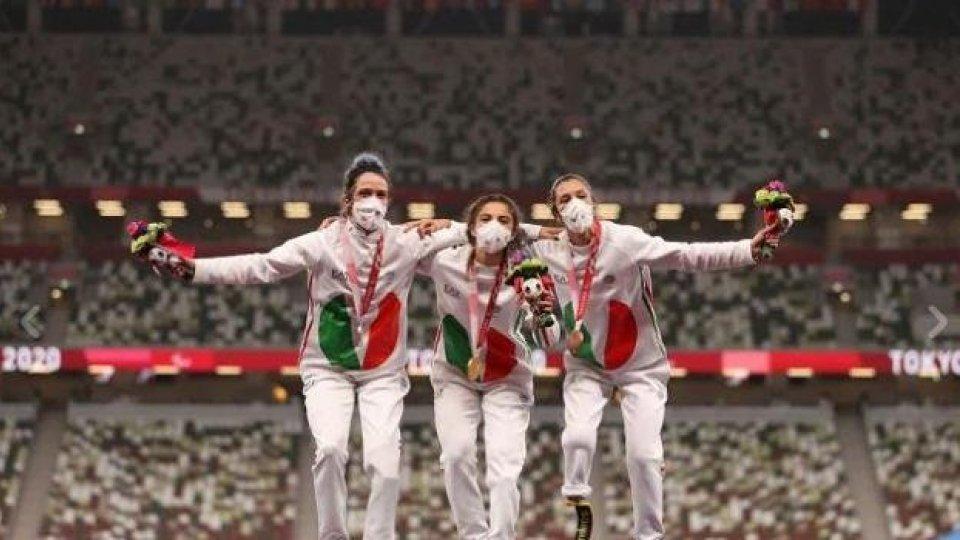 Paralimpiadi, Atletica:  tripletta azzurra con record del mondo