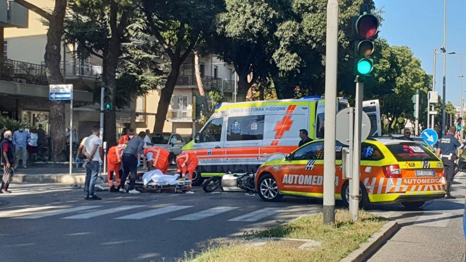 Incidente a Rimini: giovane trasportato in elisoccorso al Bufalini