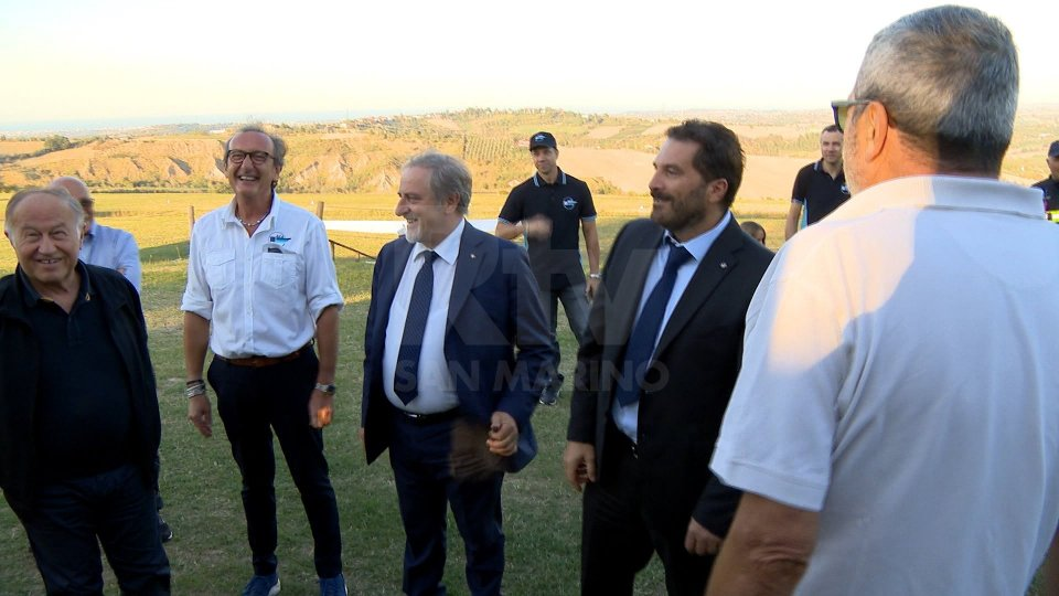 La visita dei Capi di Stato a Torraccia
