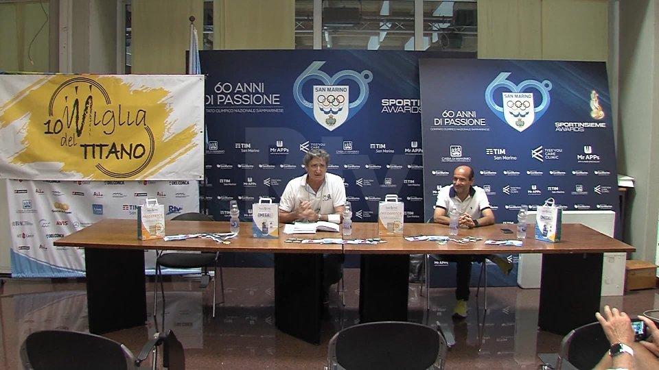 Nel servizio l'intervista a Daniele De Luigi, presidente Federazione Sammarinese Atletica Leggera