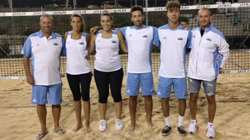 Beach tennis: la Nazionale torna in campo per gli Europei