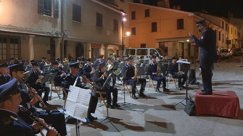 Concerto a Borgo Maggiore della Banda Militare