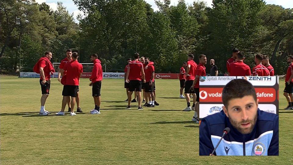 Nel video, le parole del centrocampista della Nazionale Alessandro Golinucci