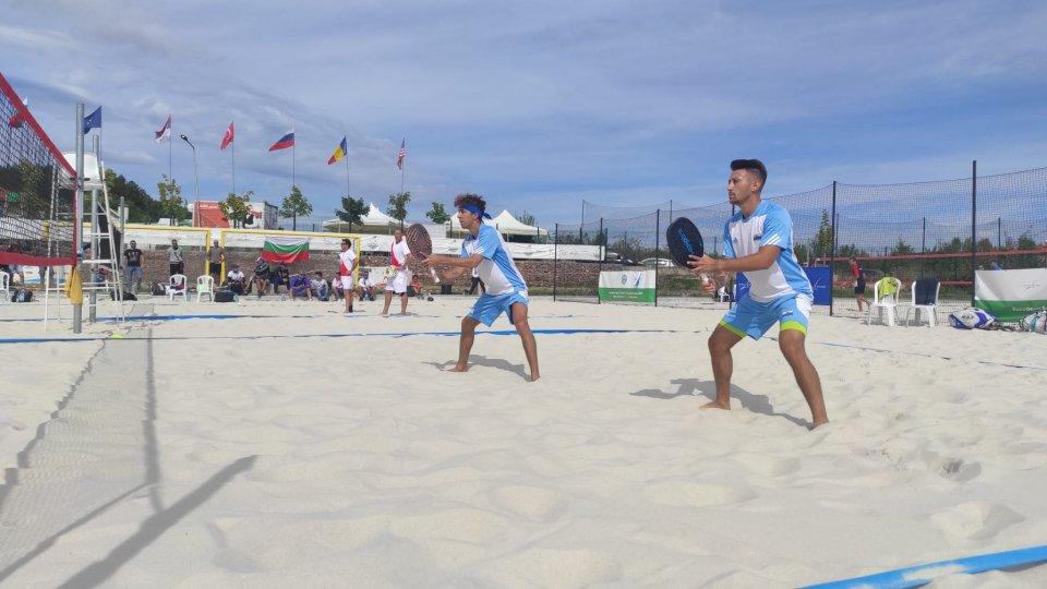 Beach Tennis: Colonna/Grandi ai quarti