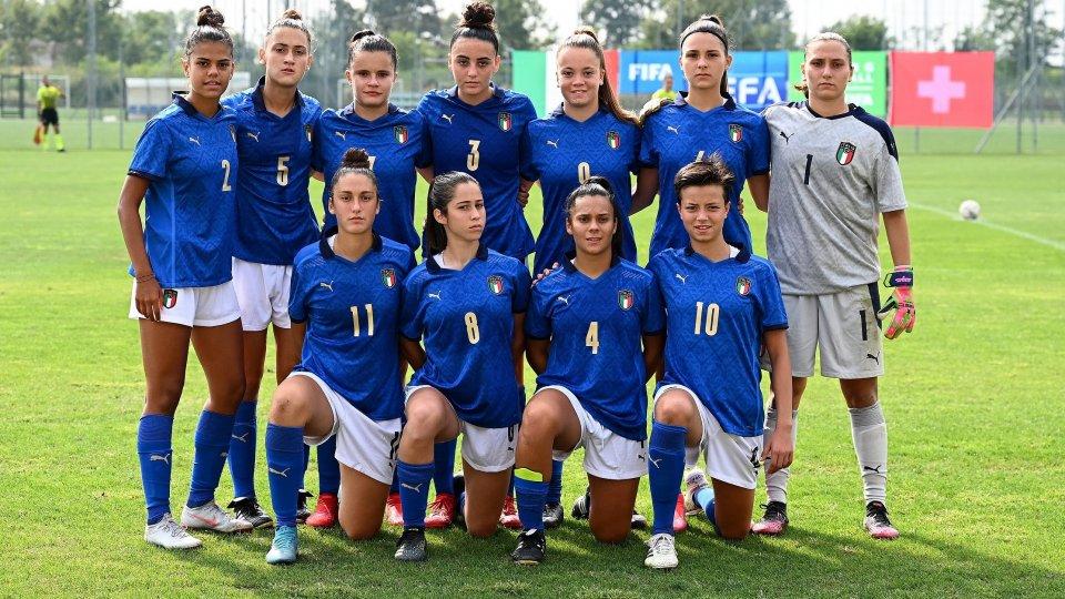 Under 17: Giulia Zaghini para un rigore, Italia - Svizzera 0-0