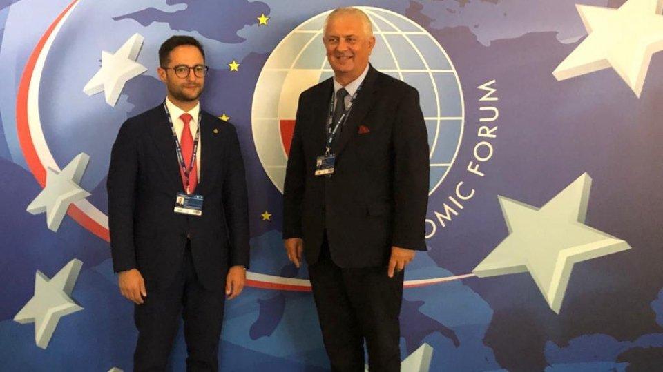 Il Segretario di Stato per l'Industria di ritorno dal XXX Forum Economico Internazionale di Polonia