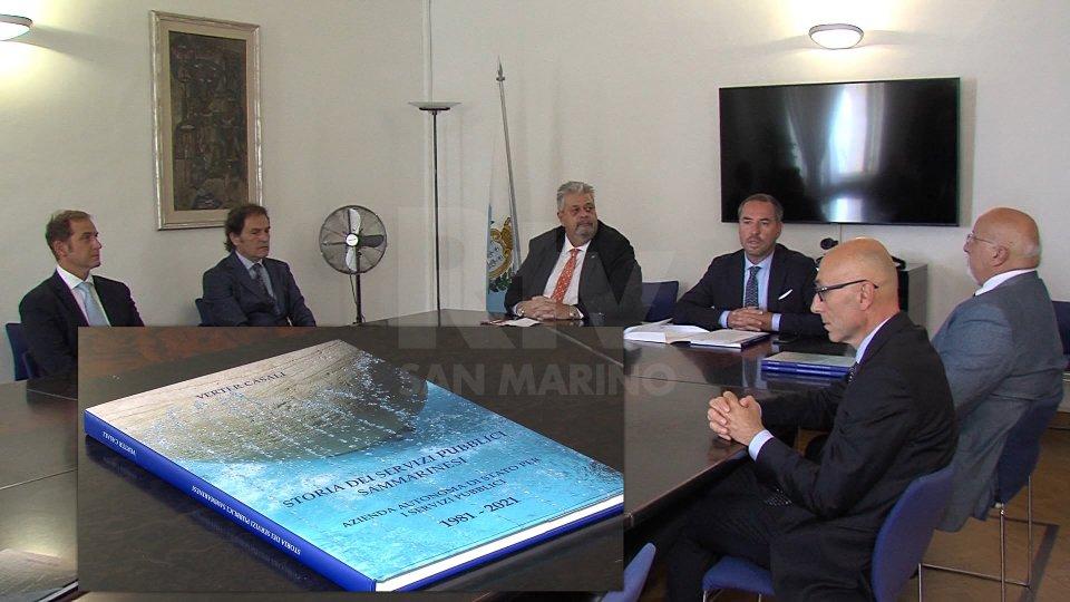 Nel video le interviste a Teodoro Lonfernini, Segretario di Stato per i Rapporti con l'AASS; Verter Casali, storico; Francesco Raffaeli, Presidente AASS. -_AASS
