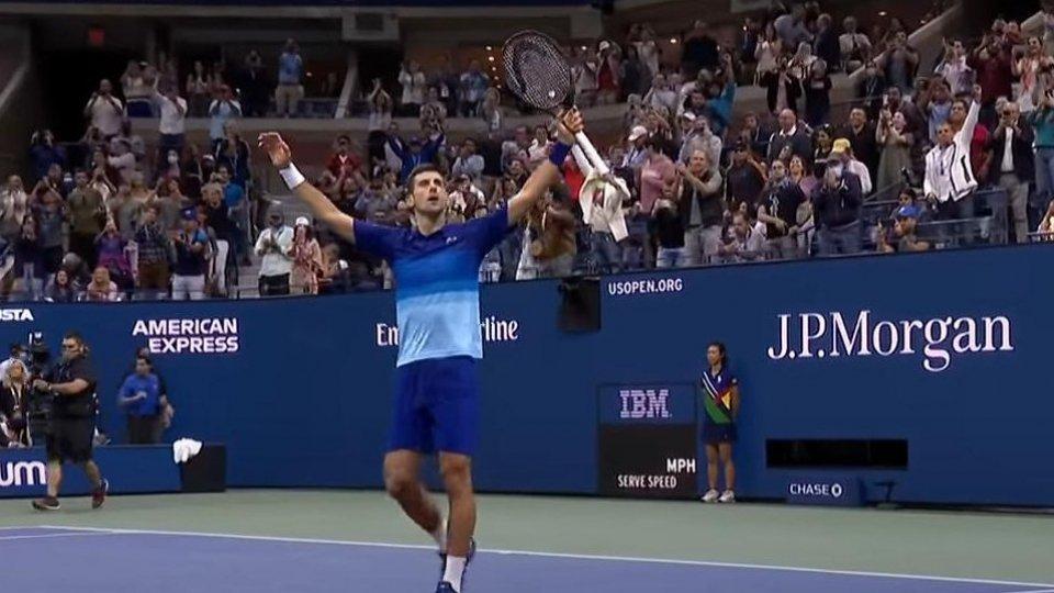 Us Open: Djokovic conquista la finale