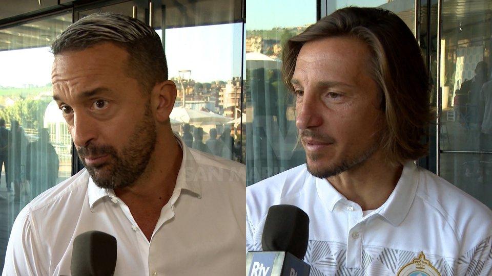 Interviste al Direttore Sportivo Gianluca Bollini e il capitano Mario Barone