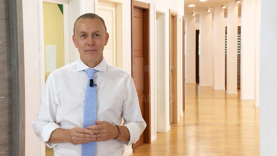 Nel servizio l'intervista a Federico Francini (responsabile commerciale Euroserramenti)