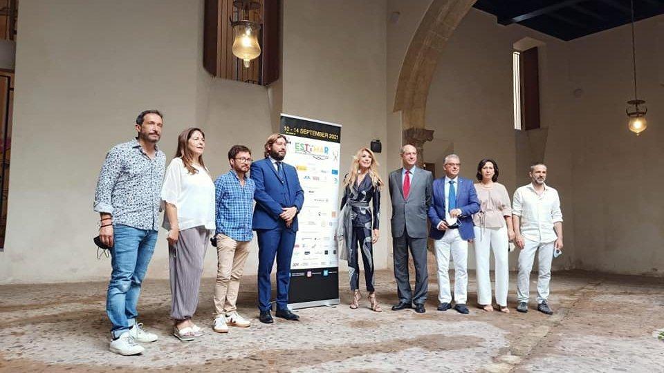 Il Segretario di Stato per il Turismo Federico Pedini Amati in visita a Estimar, sesta edizione del Festival del Cinema italo-spagnolo di Palma di Maiorca, per promuovere la Repubblica di San Marino come nuova destinazione cine-turistica