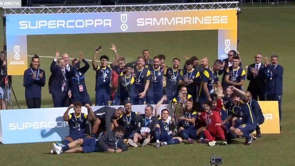 La Fiorita vince la Supercoppa