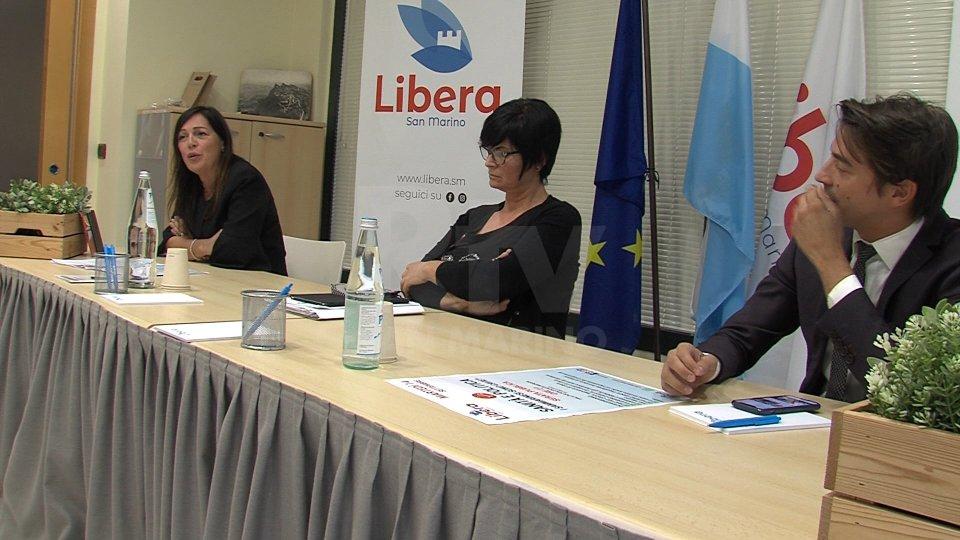 Nel servizio, le interviste a Matteo Ciacci (segretario Libera) e a Mimma Zavoli (Libera)