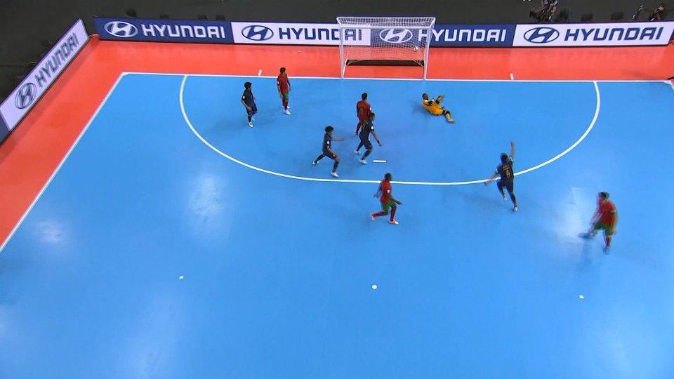 Mondiali Futsal: netti successi per Brasile e Marocco
