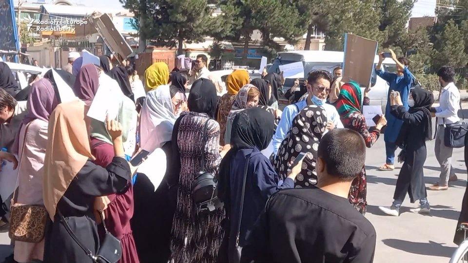 Proteste delle donne in Afghanistan