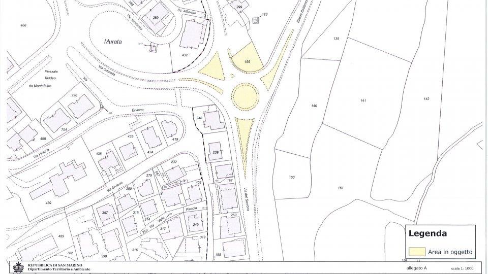 Rotatoria di Murata: un bando pubblico per la progettazione, realizzazione e manutenzione del verde nell'area posta all'intersezione tra via del Serrone, strada Sottomontana e via Gamella