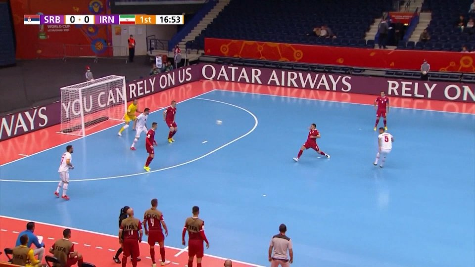Futsal, l'Argentina dilaga. Ok Iran, Giappone e Spagna