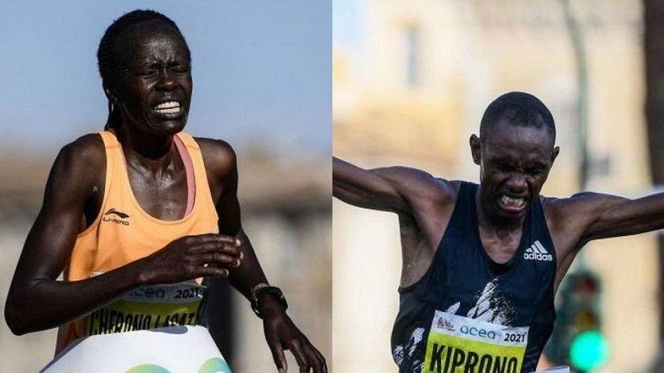 Peris Lagat Cherono e Clement Langat Kiprono - ph: @raisport