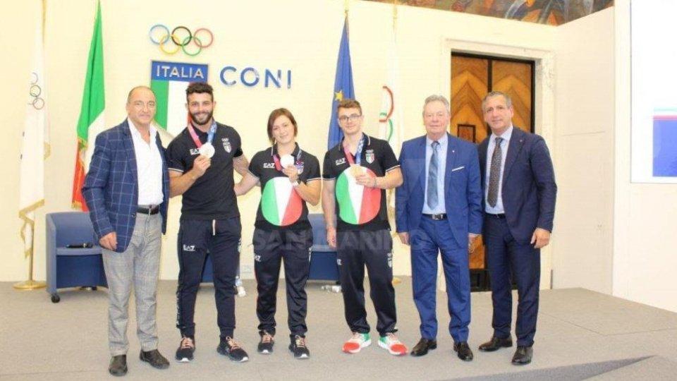 F. Brigante,Pizzolato, Bordignon, Zanni , Ercolani Casadei e Urso