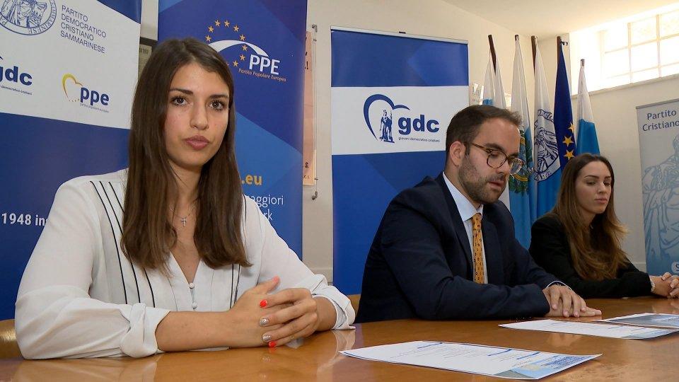 "Gdc presentano ""Skill Training: youth and democracy"""