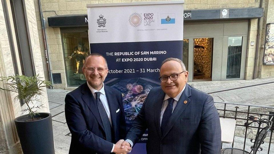 pielleitalia é sponsor del Padiglione di San Marino a Expo Dubai 2020