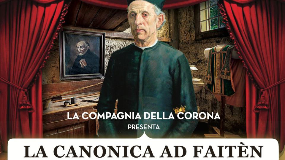 """""""La canonica ad Faiten"""": una commedia dialettale dedicata alla nascita della Cassa Rurale di Faetano venerdì 24 tutto esaurito, ancora disponibili posti per sabato 25 settembre"""
