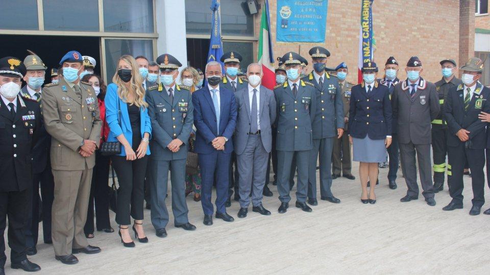 La Guardia di Finanza di Rimini celebra la Festa di San Matteo Santo Patrono delle Fiamme Gialle