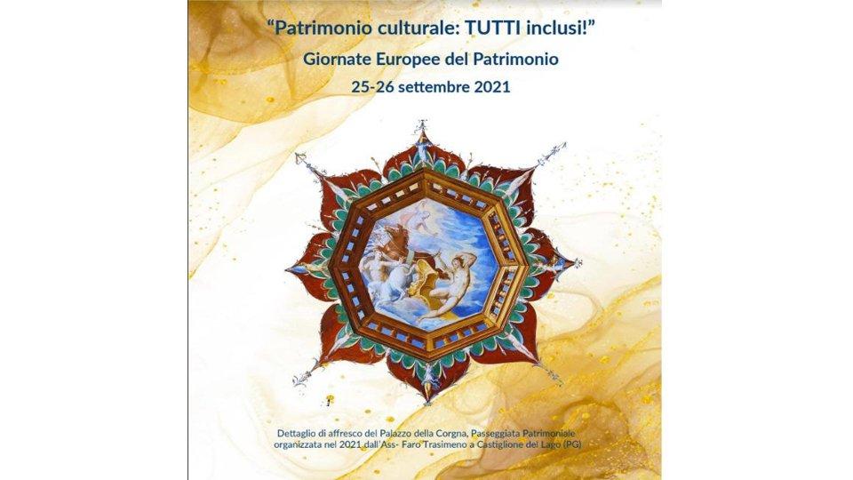 25-26 settembre giornate europee del patrimonio 2021